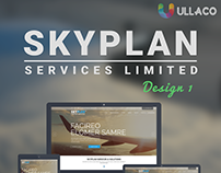 Skyplan Services Limited Website Design Prototype 1