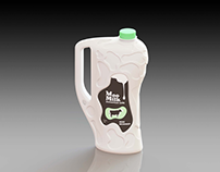 MOO Concept: 6pints Milk Bottle
