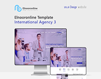 Elnooronline Template ( International Agency 3 )