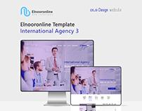Elnooronline Template ( International Agency 3 )