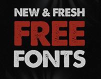 New Fresh Free Fonts 2021