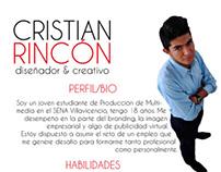 Curriculum Vitae - Cristian Rincón