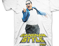 PSY Graphic Tee Design