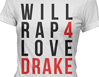 Drake Graphic Tee Design