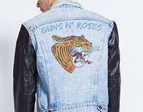 Guns N' Roses Graphic Design