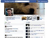 Inforgraphic -Facebook Mark Zuckerberg