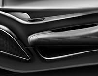 Automotive Design: NEW Front Door interior concept