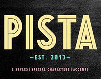 PISTA Inline & Black