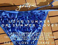 GOTTEX POP UP SUMMER EVENT INVITATION