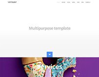 Myway, WordPress Onepage Parallax Retina Theme