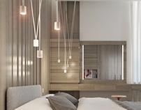 House in village «New Riga»   Bedroom