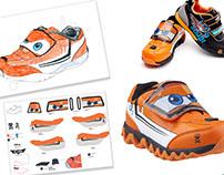 Disney Licence Shoe Design - Making off ;)