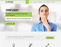 Empire, WordPress Green Corporate Business Theme