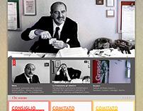 Website Concept - Fondazione Paolo Grassi