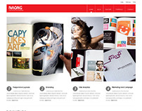 Naong, WordPress Premium Business Theme