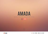 Amada, WordPress Premium Flat Fresh Theme
