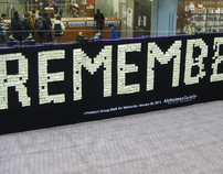 Alzheimer's Society of BC - Memory Wall