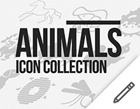 Animals icon collection