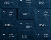 Luxe Cruises - Visual Identity
