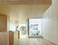 BRNK (Transformation of a terraced house in Brussels)