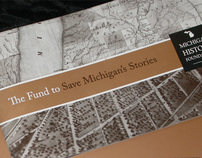 Michigan History Foundation Fundraising Brochure