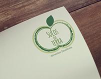 Redesenho do logotipo Sucos da Terra