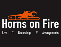 Horns On Fire Businesscards