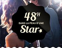 "// Digital // Mini-site responsive ""Grand Jeu Cannes"""