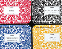 Traditional soap Tins for TJ Maxx