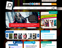 Site Institucional, Mobile e Facebook – Editora ID