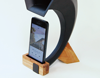Passive speaker for iphone