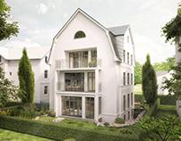 Apartmentbuildung Hamburg Altona. www.render-manufaktur