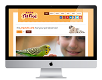 Pet-food Website Template