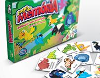 Embalagem Jogo da Memória – Pais e Filhos