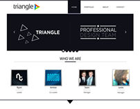 Triangle Website Design