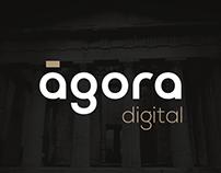 Ágora Digital Logo Design