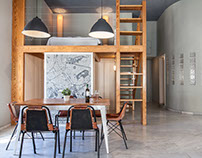 Loft located in the heart of Athens.