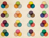 Poster - Tri-Colour Palettes