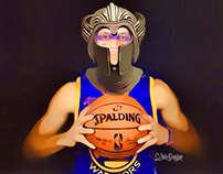 Steph curry, warrior