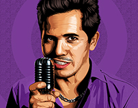 John Leguizamo Illustration