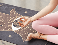 Magical yoga mats for every woman | Moonholi
