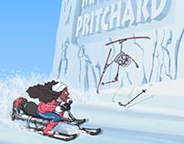 TerraWatt Snow Race (Portfolio Title Page)