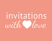 Invitations Branding and website