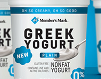 Members Mark Greek Yogurt