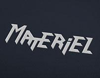 Marque de vêtement «Materiel»