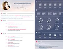 UI / UX Designer Curriculum Vitae