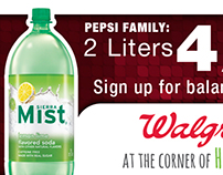 Pepsi - Walgreens Digital Billboard
