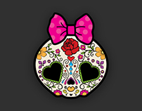 Candy Skull Logo