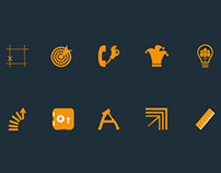 Set of icons of my mind