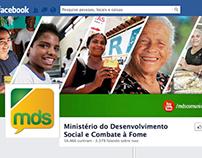 Design Mídia Social - Ministério Denvolvimento Social